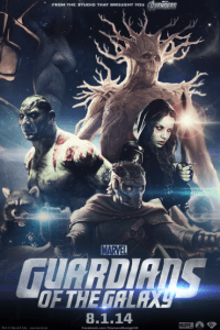 Fan made poster for Guardians of the Galaxy