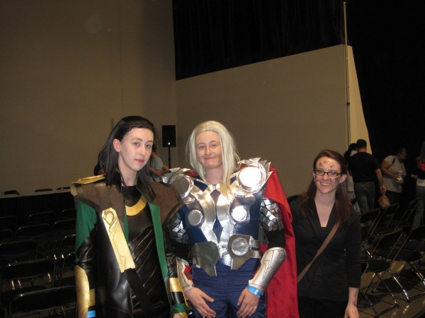 Loki, Thor and...Amy Pond?