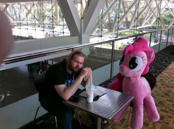 Coffee w/ Pinkie Pie!
