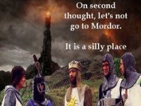 Mordor tis a silly place