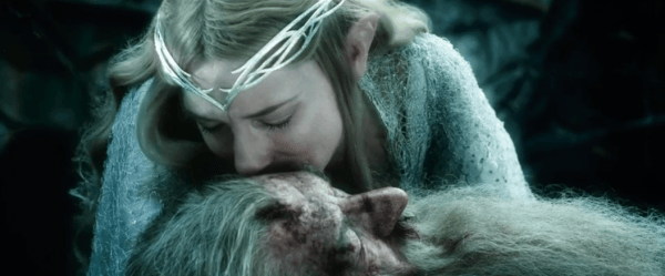 Gandalf and Galadriel: A tender moment