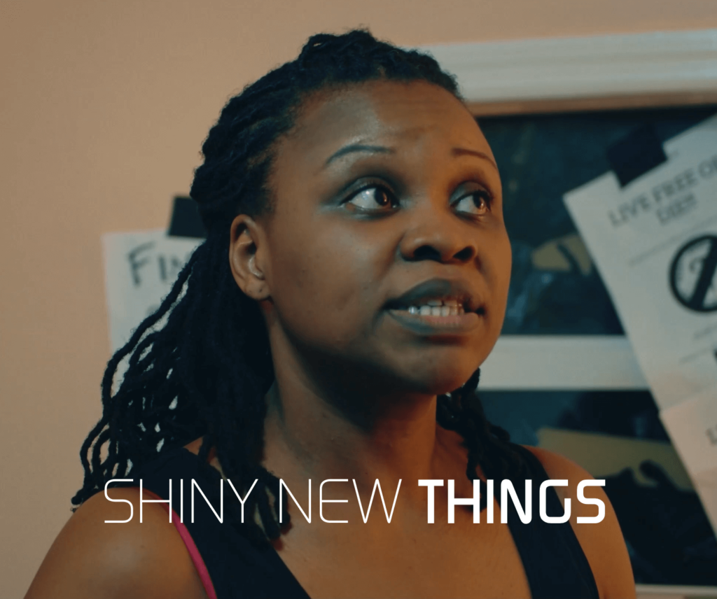 Shiny New Things, interview with Lakeisha Jackson, filmmaker on The Fantasy Network News