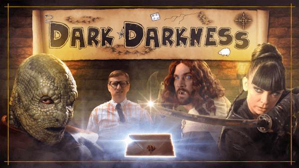 Interview with Dark Darkness filmmaker Wilson Large on The Fantasy Network News