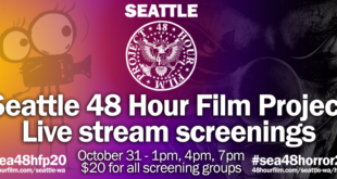 Seattle 48 Hour Film Project 2020 screenings on The Fantasy Network