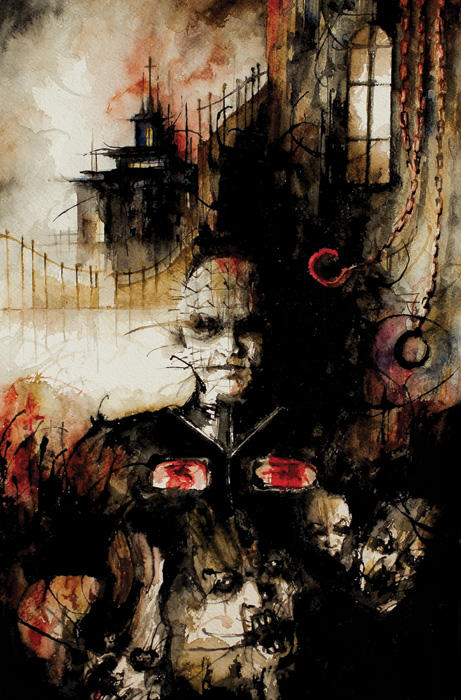 Clive Barker's Hellraiser: Bestiary (BOOM! Studios) cover art by Daniele Serra - interview on The Fantasy Network News