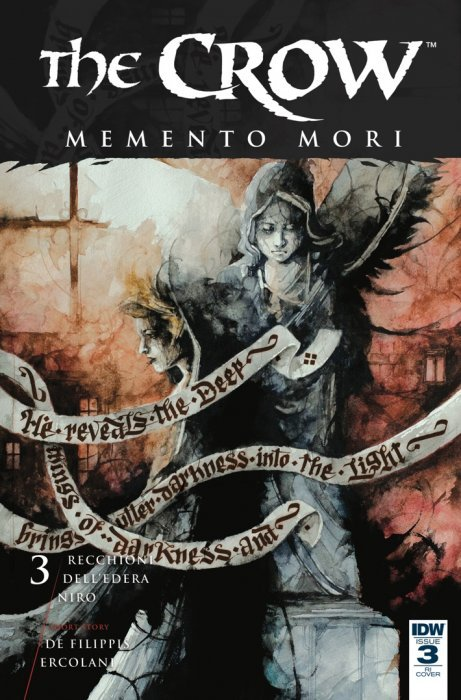 Daniele Serra's Crow: Memento More cover art - interview on The Fantasy Network News