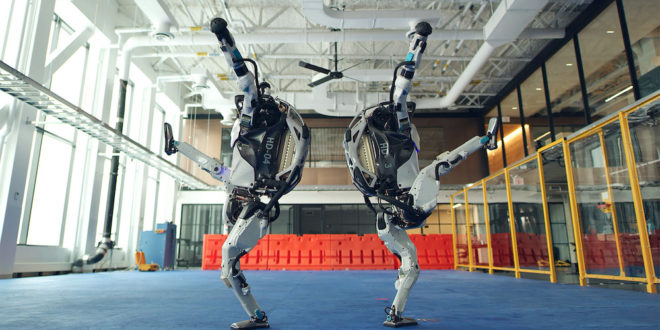 Boston Dynamics' robots are shown dancing in a newly released video. Image source: Boston Dynamics/Twitter - story on The Fantasy Network News